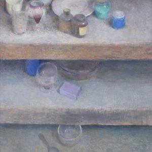 pere-mon-peinture-etageres-estanterias