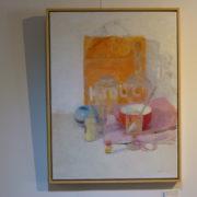 Objets de mon Atelier, huile sur toile, 61x46cm